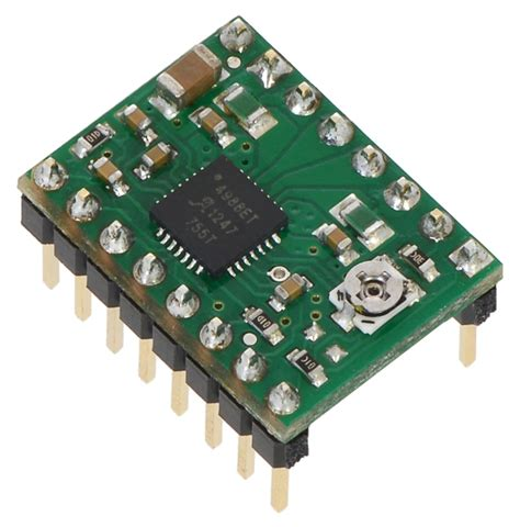 a4988 stepper motor driver pololu a4988 stepper motor driver carrier