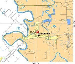 simonton map 77476 zip code simonton profile homes