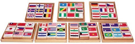 flags of the world montessori montessori materials flag sts of the world