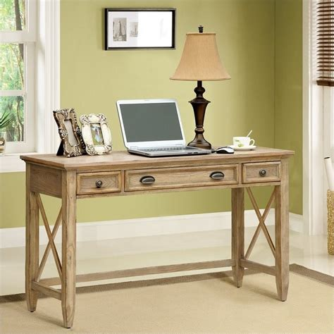 Riverside Desks by Riverside Furniture Coventry Writing Desk In Weathered Driftwood 32420