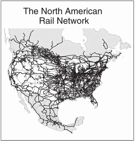 american rail network map nae website the freight railroad renaissance
