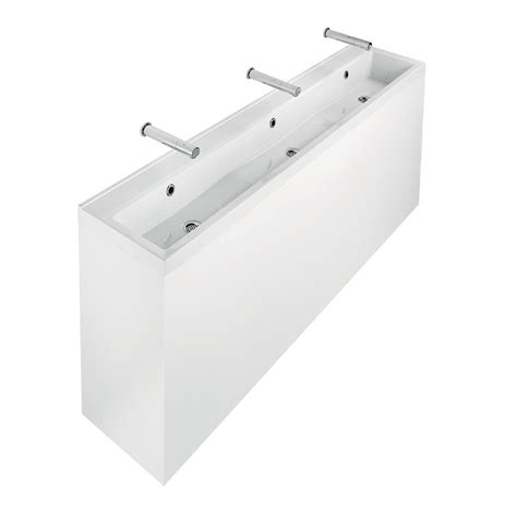 Standard Vanity Cabinet Sizes Broadway 120 180 240cm Washing Trough Solid Surface