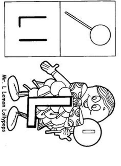 Mr L Coloring Pages by Letter Coloring Pages Search