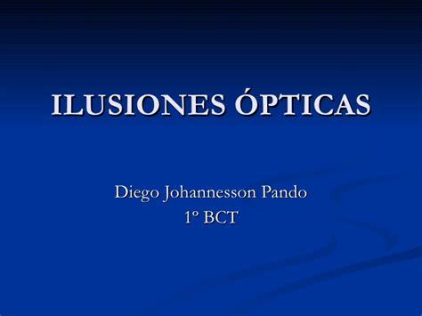 ilusiones opticas ppt ilusiones 243 pticas
