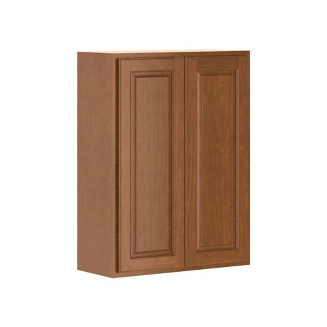 hton bay assembled 27x36x12 in wall cabinet in