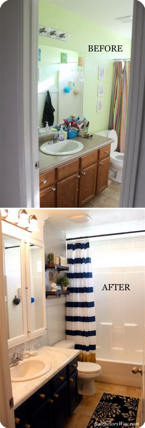 Bathroom On A Budget by 33 Inspirational Small Bathroom Remodel Before And After