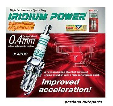 Premium Busi Mobil Denso Iridium Japan Ik16 jual beli busi mazda 2 denso iridium power ik16