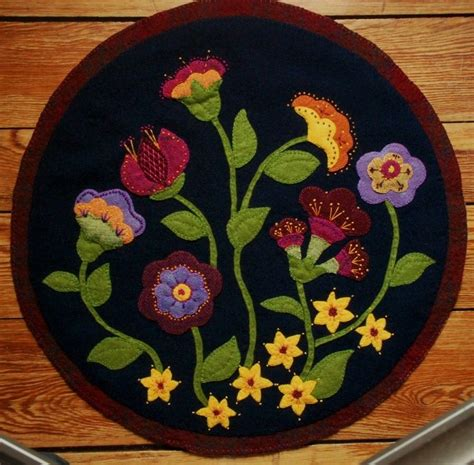 woolen durrie designes best designes pinteres the 25 best wool applique ideas on wool applique patterns felt applique and flower