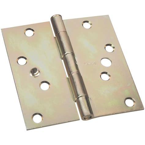 Stanley Door Knobs by Stanley National Hardware 4 In Satin Brass Entry Door