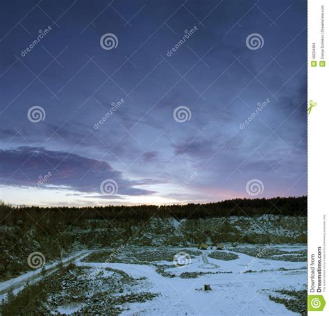 winter pit pit in winter stock photo image 48234484