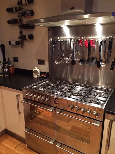 Sarah's gorgeous Stoves Sterling range cooker, hood and