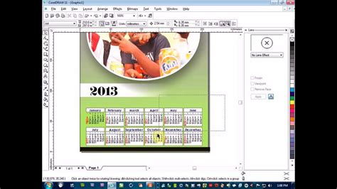 how to design calendar in coreldraw how you go take design calender using corel draw youtube