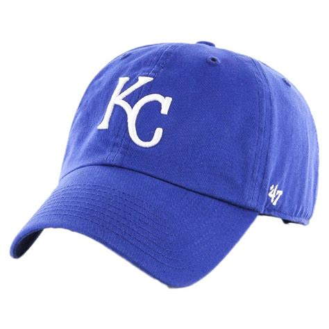 47 brand kansas city royals mlb clean up strapback