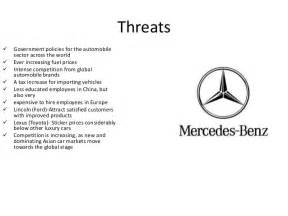Swot Analysis Of Mercedes Mercedes Swot Analysis