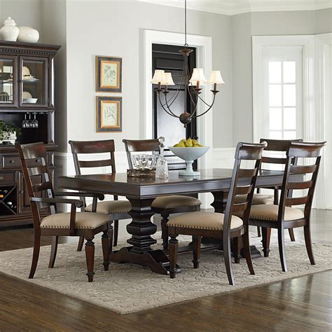 charleston table and chairs standard furniture charleston traditional seven