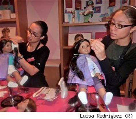 american girl doll hair dresser i love my american girl doll hair stylist aol finance