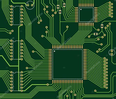 vector board layout circuit board stock vector 169 kernelpanic 20397875
