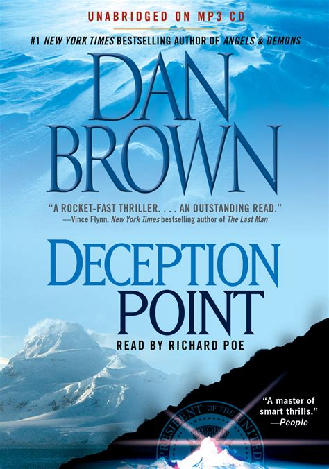 deception point dan brown official publisher page simon schuster canada