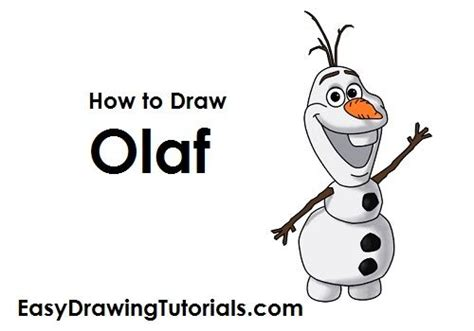 easy and olaf tutorial how to draw olaf snowman d r a w i n g s olaf snowman olaf and drawing disney