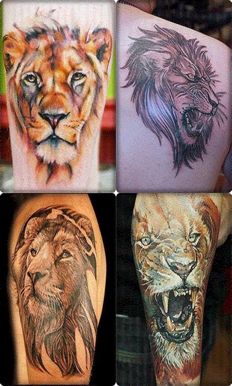 lion tattoo photo download free lion tattoo designs for guys apk download for android