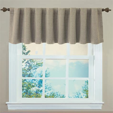 sound asleep curtains sound asleep room darkening back tab valance