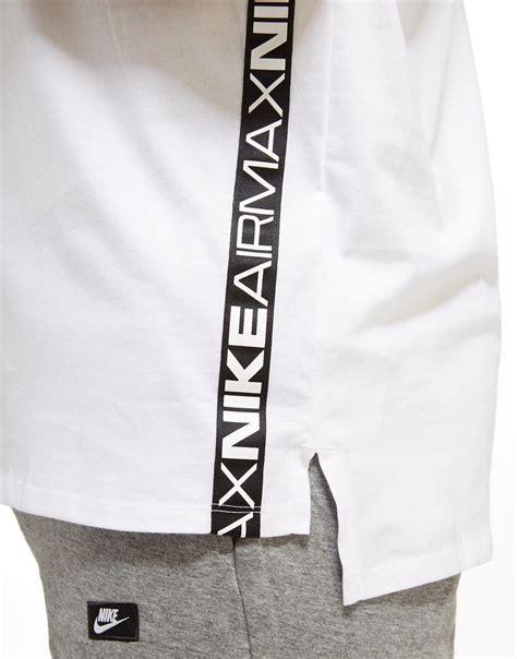 Tshirt Nike Air Max lyst nike air max t shirt in white for