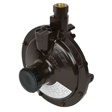 Regulator Single Stage Rego Low Pressure rego 5503b8 second stage lpg propane gas regulator buy now from gasproducts co uk