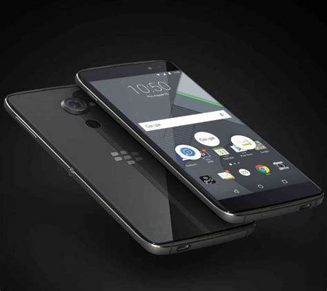 BlackBerry Executive Says DTEK60 Comparable With iPhone 7