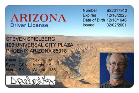 free drivers license template arizona driver s license editable psd template