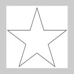 christmas star template invitation template