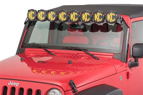 jeep kc kc hilites 91313 gravity pro6 led light bar for 07 18 jeep