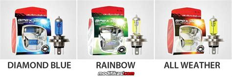 Autovision All Weather H8 55w Kuning Pekat 3000k baru wts sale autovision halogen bulb blue rainbow all weather ecobright