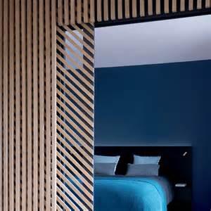 chambre bleu canard et taupe design de