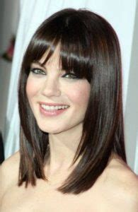 different bang styles with centre part 30 incredibly pretty straight hairstyles