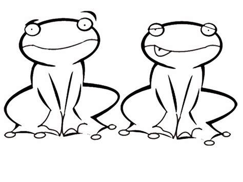 imagenes de ranas bonitas para dibujar imprimir ranas dibujos para colorear