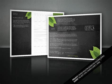 layout cover buletin 10 best modern church bulletins newsletters images on