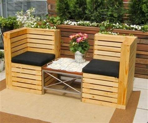 Patio Pallet Furniture by Recycled Pallet Furniture 25 Unique Ideas 99 Pallets