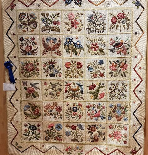 Caswell Quilt Block Of The Month by Don T Wait To Create Colour And Contrast Quilt Exhibition