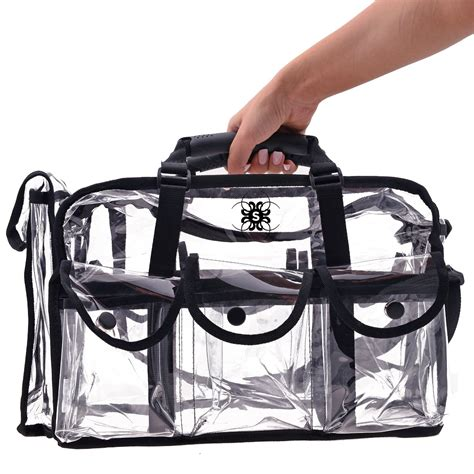 Cosmetic Travel Bag Organizer Tas Pouch Kosmetik Hello Ori clear makeup bag mycosmeticorganizer