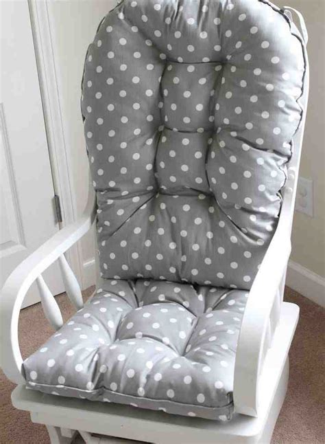 how to make rocking chair cushions baby rocking chair cushions home furniture design