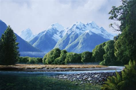 Landscape Artists New Zealand Murray Ayson New Zealand Landscape Artist