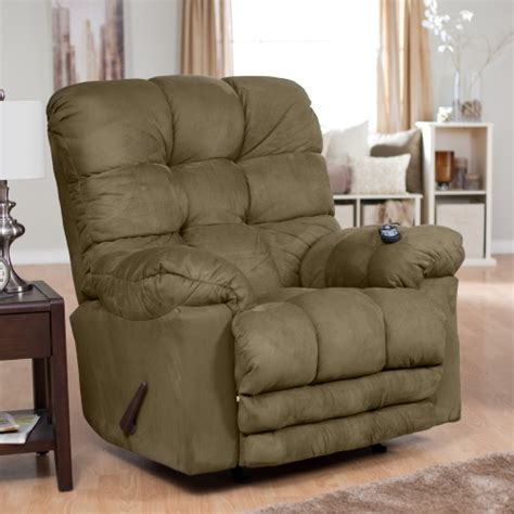 Heated Recliners by Catnapper Deluxe Magnum Heat Rocker Recliner