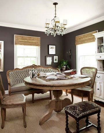 dark taupe dining table the perfect dark taupe walls four walls and a roof