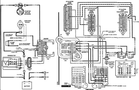 ignition switch wiring diagram chevy s10 circuit and