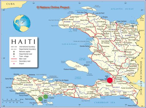 map of haiti cities the episcopal diocese of kansas