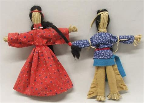 facts about the corn husk doll pr american corn husk dolls activities
