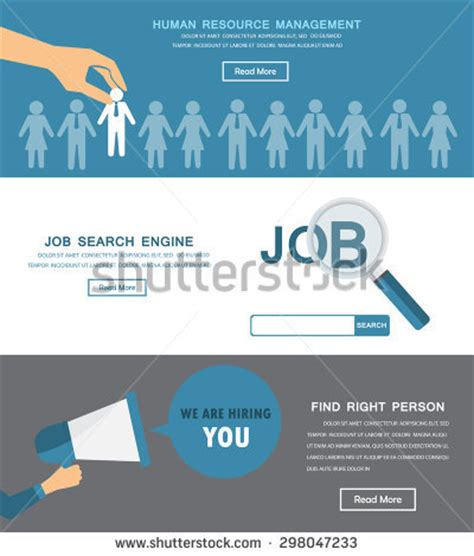recruitment site template hr stock photos images pictures