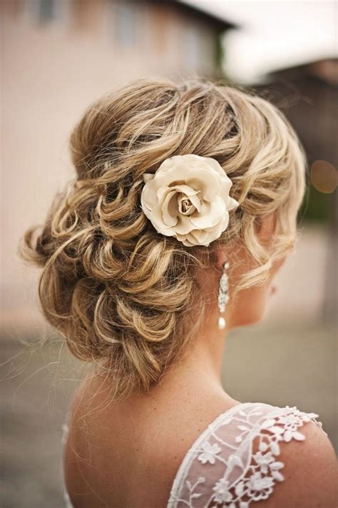 flechtfrisur romantisch verspielt hair wedding