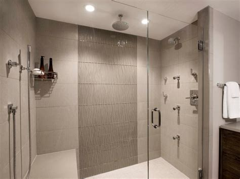 Shower In Bathroom Bathroom Design Trend Shower Lighting Hgtv