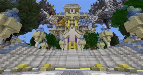A Hint Of Heaven Fadecloud Hub Minecraft Project